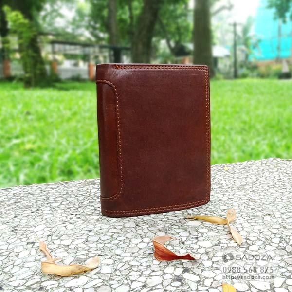1 chiếc ví chuẩn về đường may và góc cạnh