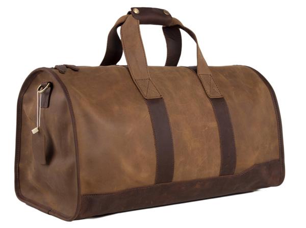 túi du lịch được làm từ top grain leather