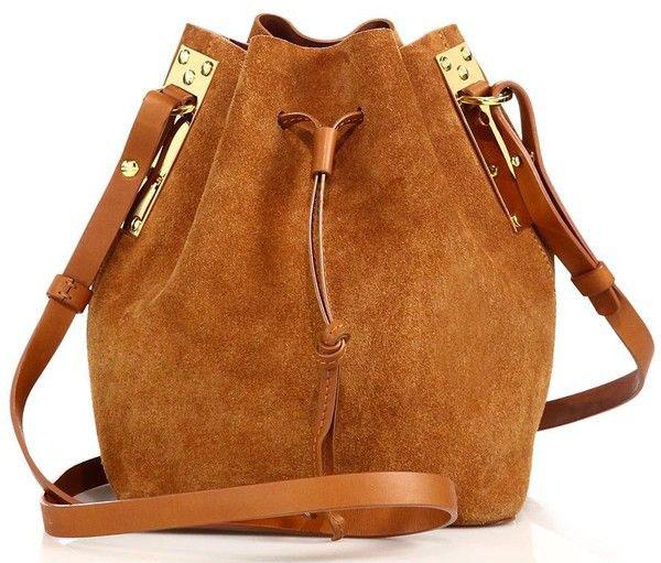 túi làm từ suede leather