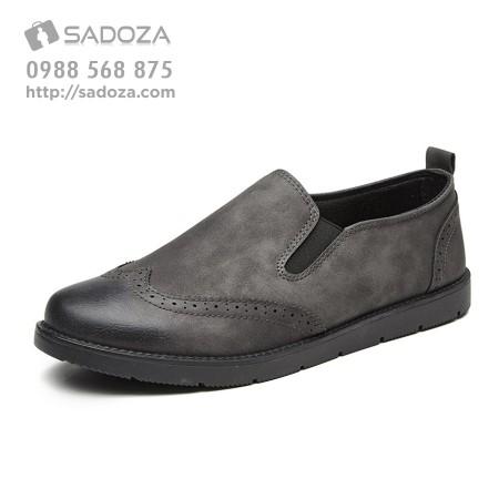 Giày lười nam xuất khẩu cao cấp trang nhã trẻ trung