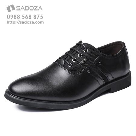 Giày da nam công sở da bò thanh lịch hiện đại