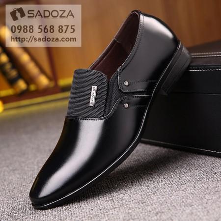 Giày lười nam công sở da bò lịch lãm sang trọng